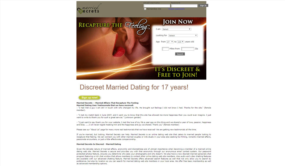 Married Secrets im Test 2021