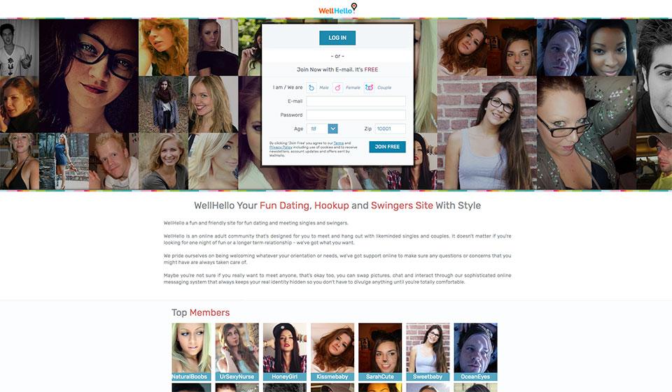 wellhelllo dating site spectacol de întâlniri de pat